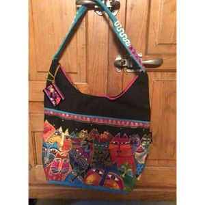 Laurel Burch Fantasticats Shoulder Bag
